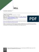 Salant and Woroch (1992) Trigger Price Regulation