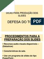 Prod. Slides Tcc