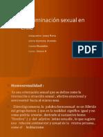 Discriminación sexual en chile