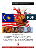 Alternative Malaysia Budget 2008 Complete (Cover) 070905b