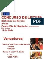 EB1 Sobral Concurso de Leitura Murado 2º ano 2012