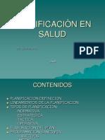 TEMA Nº 5  PLANIFICACION EN SALUD