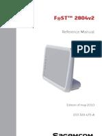 Fast 2804 Manual Eng