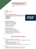 Metodologia Dello Studio