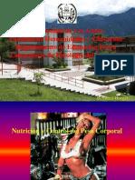 Nutricion y Composicion Corporal
