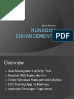Aspen Runbook Enhancements