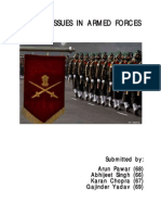 Ethical Issues in Armed Forces
