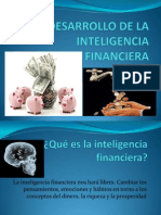 Desarrollo de La Inteligencia Financier A