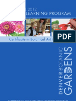 2012 Summer - Fall Distance Learning Program for Denver Botanic Gardens' Botanical Art and Illustration Program