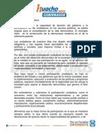Participación ciudadana, JDM