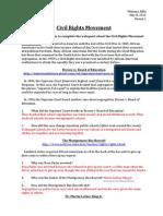 Civil Rights Webquest