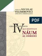 Sfântul Nicolae Velimirovici – Cele patru aşezăminte ale Sfântului Naum al Orhidei
