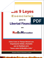9 Leyes RDM Www.robertoPerez.com