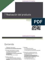 7 Realizacion Del Producto