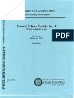 Everett School District Accountability Audit (draft)