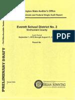 Everett School District Federal Single Audit (draft)