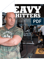 Mens Fitness Uk Article - Heavy Hitters