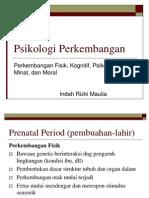 Psikologi Perkembangan(ringkasan)