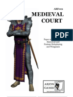 Medieval Paper Miniatures