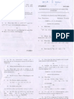 Maurai kamaraj university MCA exam paper may 2008