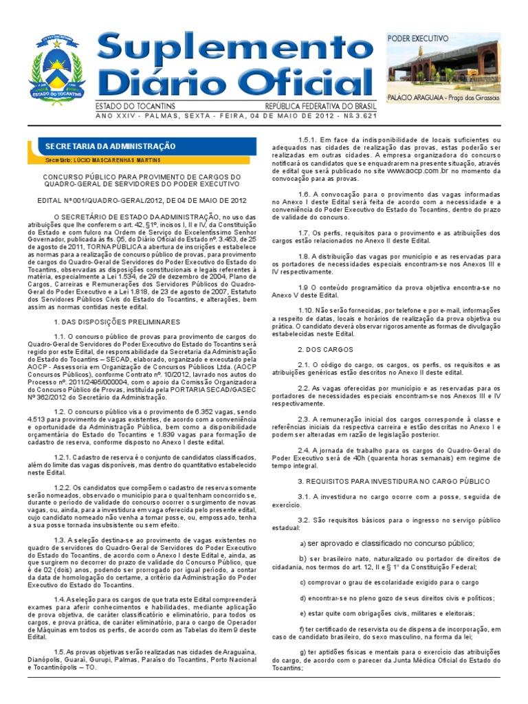 Edital Concurso Quadro Geral cf47ce307d