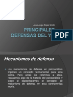 Principales Defensas Del Yo