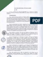 Aprobación de cédula de sufragio EMC 2012
