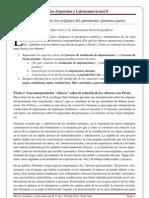 Clase Nº 13 - Los debates sobre los origenes del peronismo