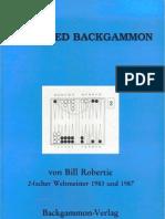 Bill Robertie - Advanced Backgammon