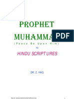 The Prophet Muhammad Pbuh in Hindu Scriptures