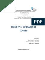 GENERADOR DE SEÑALES INFORME
