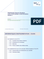 Cours que d Instrumentation 2010 2011