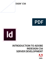 Intro to Indesign Server