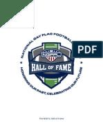 NGFFL Hall of Fame Nomination Information