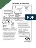 Manual de Alarma C&K 2316span
