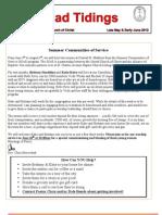 May June 2012 Newsletter