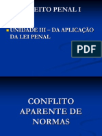 Conflito Aparente de Normas 2012.1