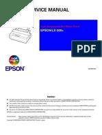 EPSON LX300 Service Manual