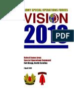 2010 Usasoc Vision