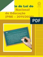 Projeto de Lei Do Plano Nacional de Educao Pne 2011_2020