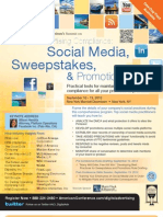 Social Media, Sweepstakes, and Promotions
