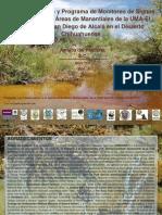 Planes de Manejo y Programa de Monitoreo de Signos Vitales para las Áreas de Manantiales de la UMA-El Pandeño; y San Diego de Alcalá en el Desierto Chihuahuense