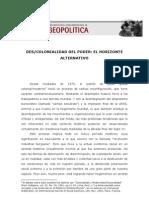 DESCOLONIALIDADDELPODERELHORIZONTEALTERNATIVO