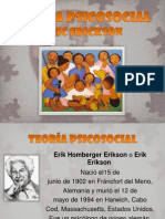 TEORÍA PSICOSOCIAL ERICK ERICKSON