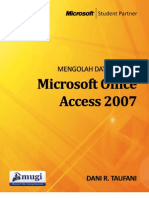 Dani R Taufani - Mengolah Data Dengan Access 2007