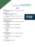 Reglas Adjetivos Masc Fem Plural