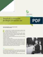 Presencia y evocación de Borges en nuestro sur