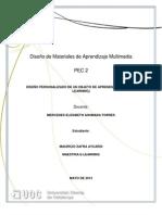 Diseño de Materiales de Aprendizaje Multimedia pec2