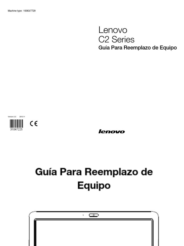 Manual Desarme Lenovo C200