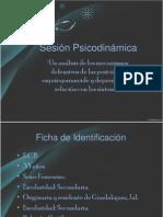 Sesión Psicodinámica Presentación